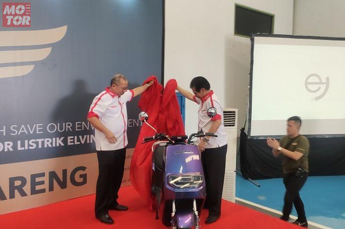 Motor listrik baru Elvindo diperkenalkan seiring dengan peresmian pabriknya di CIkupa, Tangerang.