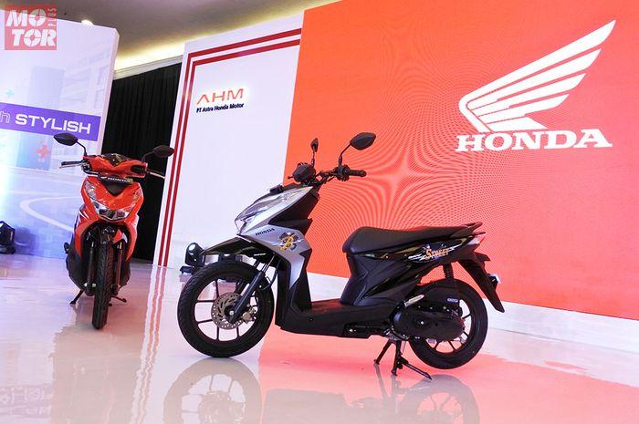 All New Honda BeAT Sporty dan All New Honda BeAT Street