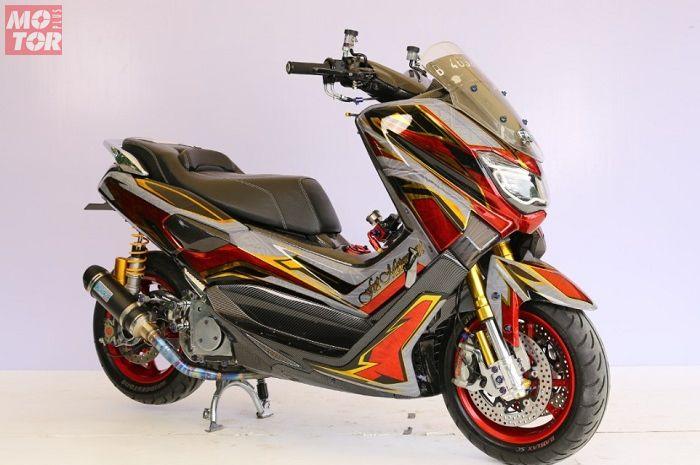 Yamaha NMAX juara di Customaxi Bekasi 2020.