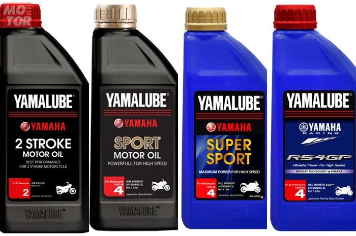 Pilihan oli mesin motor sport Yamah, apa saja?