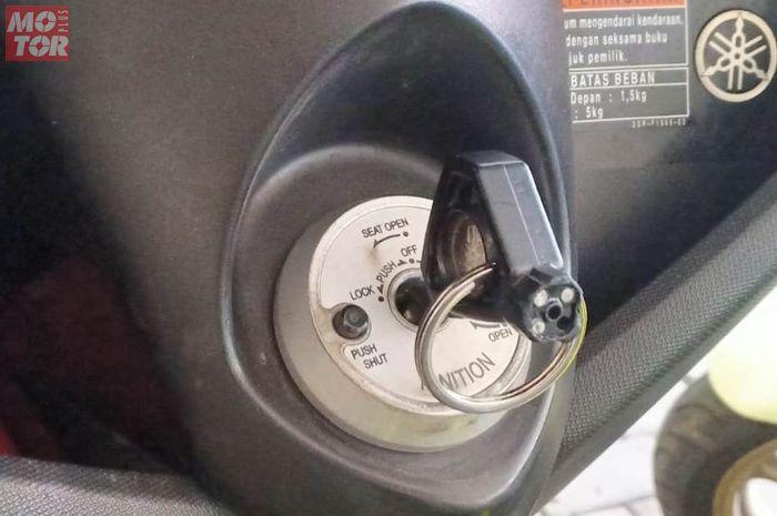Cara gampang kalau mendadak Kunci motor Yamaha NMAX hilang