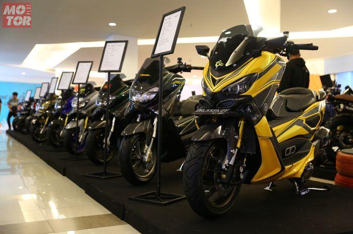 Jajaran motor finalis Customaxi x Yamaha Heritage Built Denpasar 2020