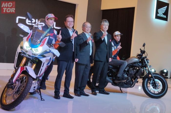 Honda CRF1100L Africa Twin 2020 diluncurkan, harganya setengah miliar Rupiah