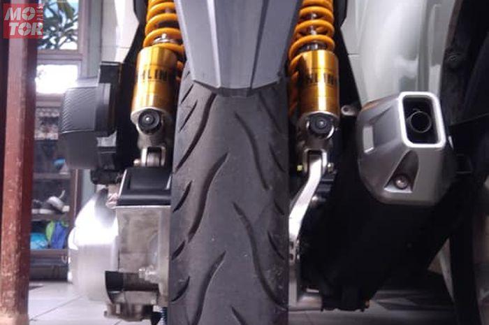 Honda Vario pakai sokbreker belakang double