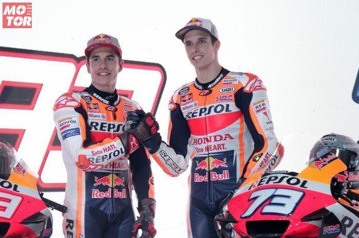 Walau menjadi rekan setim, Marc Marquez dan Alex Marquez tetap rival.