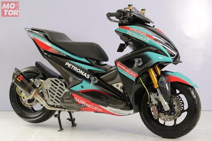 Yamaha Aerox 155 ala Petronas SRT