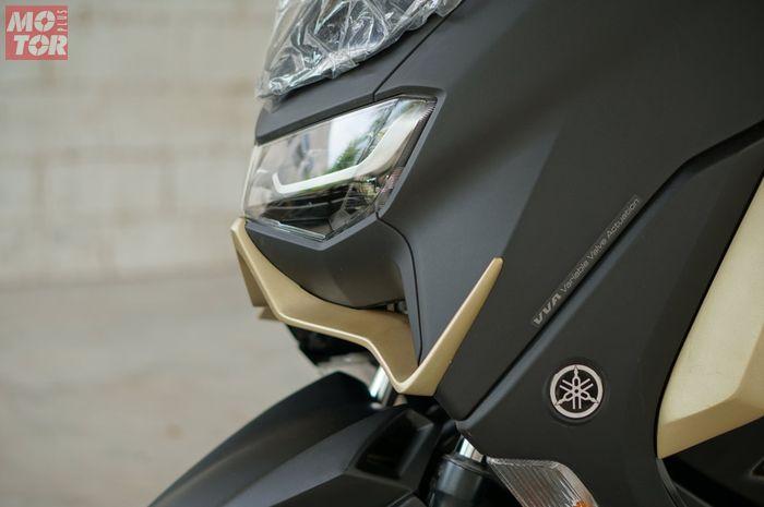 Winglet custom di Yamaha All New NMAX.