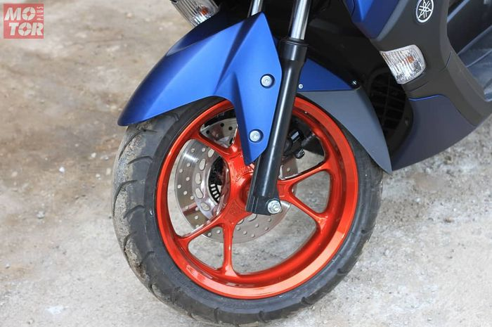 Repaint pelek All New NMAX 155, bebas request warna dan cuma 4 jam.