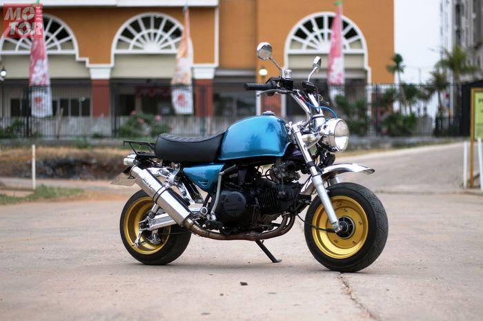 Modifikasi Honda Gorilla 250 cc.