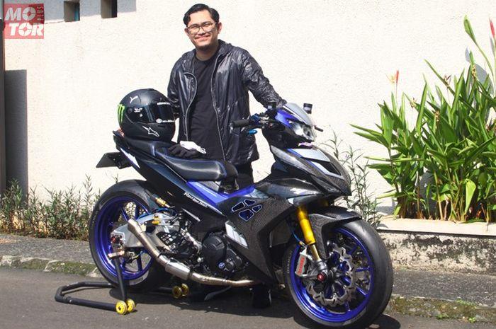 Modifikasi Yamaha MX King 150 paling hedon di Indonesia