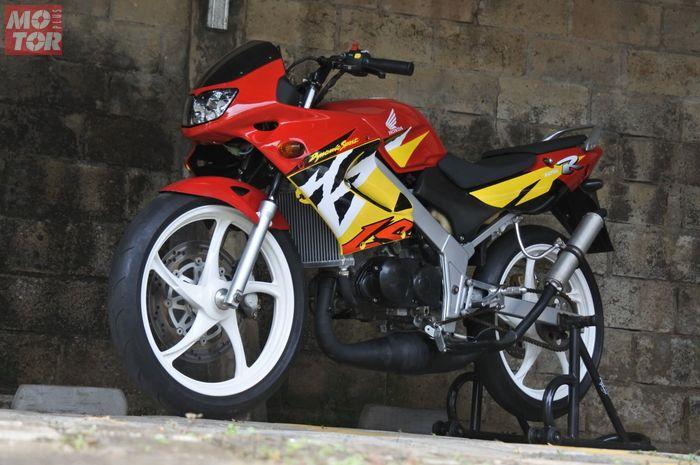 Restorasi Honda LS125, Motor 2 tak mungil yang langka di Indonesia.