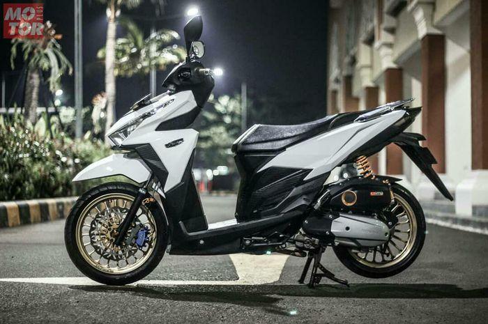 Modifikasi Honda Vario 150, tampil simple dan menawan
