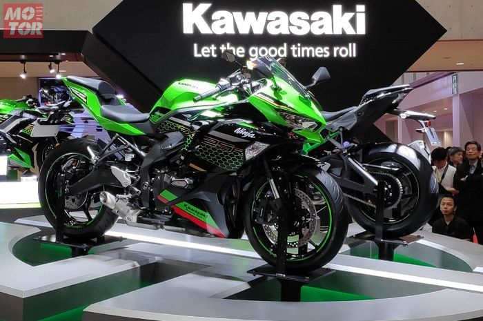 Kawasaki ZX-25R alias Ninja 250 4 silinder sudah bisa dipesan di dealer ini