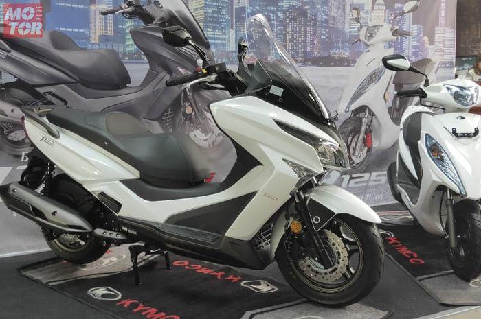 Kymco X-Town 250i punya desain gambot namun tetap sporty