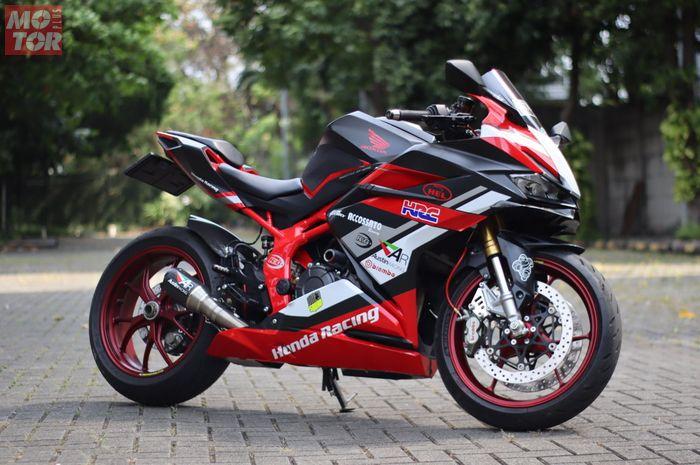 Totalitas modifikasi Honda CBR250RR, telan kaki Ducati dan Aprilia