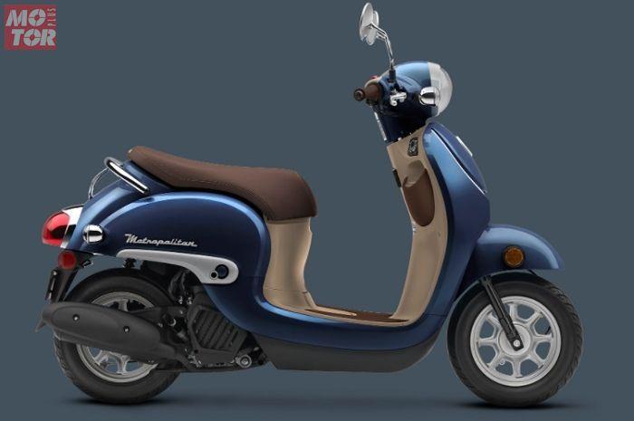 Honda Metropolitan, adik Honda Scoopy Ini Dibekali Mesin 50 cc Bertampang Retro, Harganya Lebih Mahal dari PCX 150
