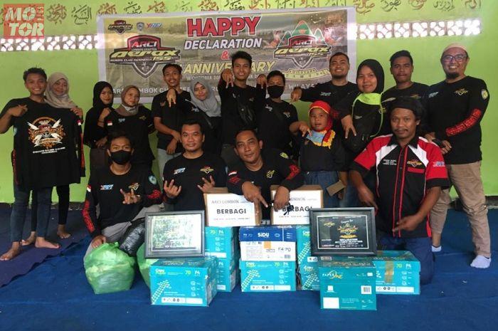 Contoh positif, ARCI Lombok Chapter rayakan ulang tahun pertama di pondok pesantren.