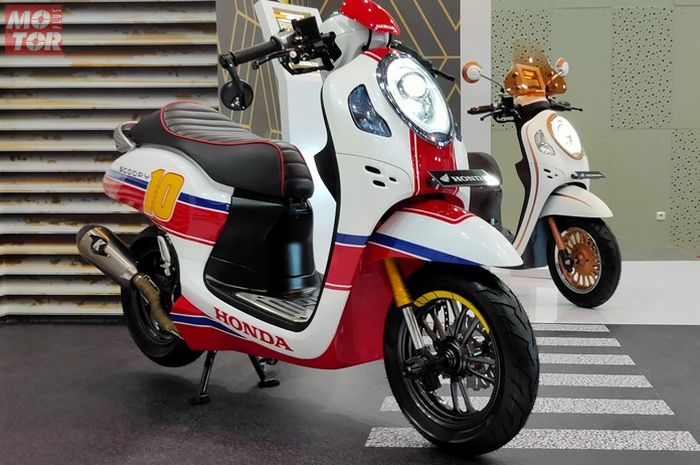 All New Honda Scoopy 2020 jadi cafe racer oleh Katros Garage