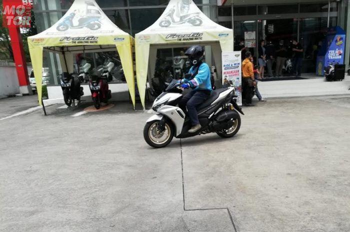 All New Aerox 155 Connected Resmi Mengaspal di Jawa Tengah dan Yogyakarta