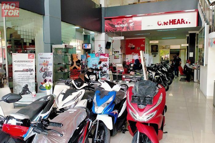 Ilustrasi. Sikat motor baru Honda sekarang bisa hemat jutaan rupiah bro!