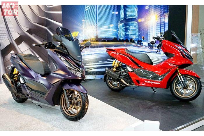 Modifikasi Honda PCX 160 2021 pertama di Indonesia