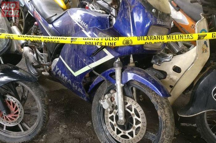 Jadi Motor Sitaan Polresta Surakarta, Yamaha RZR Masih Saudara dengan RX-King?