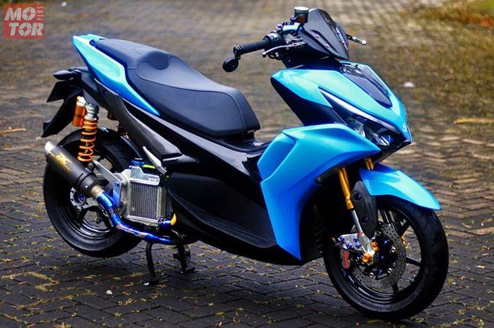 All New Yamaha Aerox 155 modifikasi telan biaya Rp 35 juta