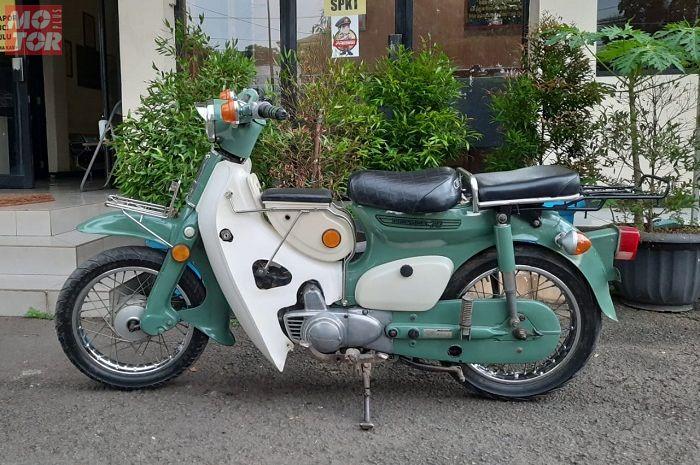 Fakta-fakta motor antik Honda C70 yang sempat digasak maling motor di Bekasi.