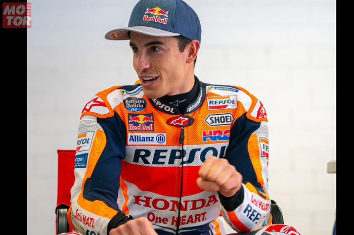 Pembalap tim Repsol Honda, Marc Marquez enggak yakin bisa menyelesaikan balapan MotoGP Portugal 2021.