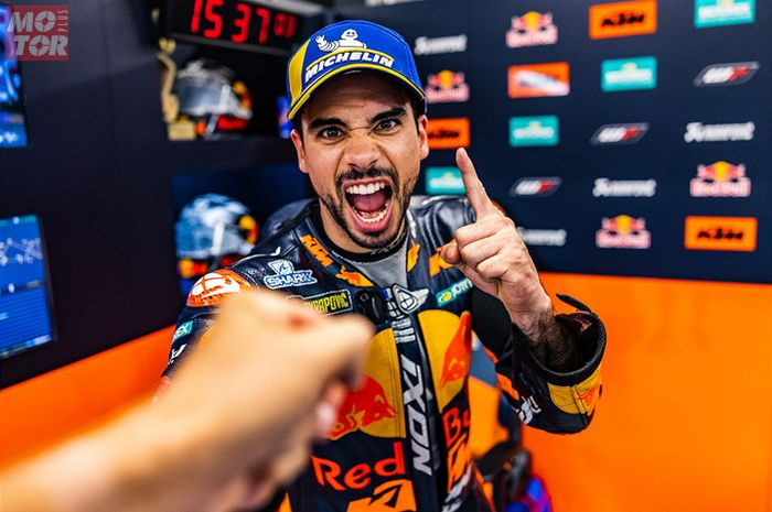 Pembalap MotoGP Miguel Oliveira bikin sejarah di MotoGP Catalunya 2021 setelah KTM jadi juara, tahu gak apa kepanjangan KTM?