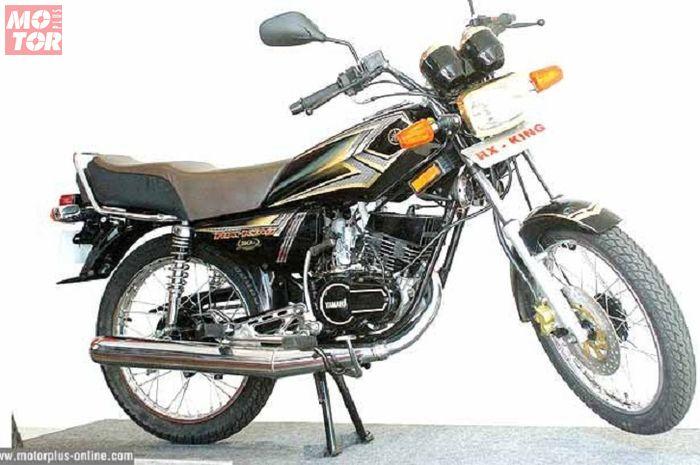 Pilihan Aliran Modifikasi Yamaha RX-King Ini bikin Loe Baper