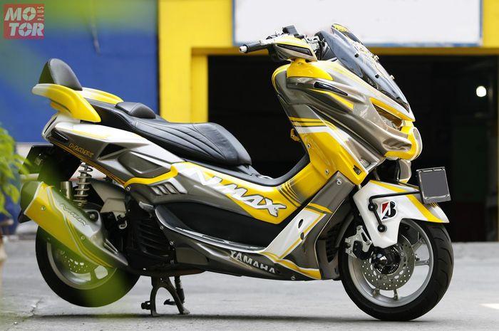 Yamaha NMAX bergaya Bumblebee