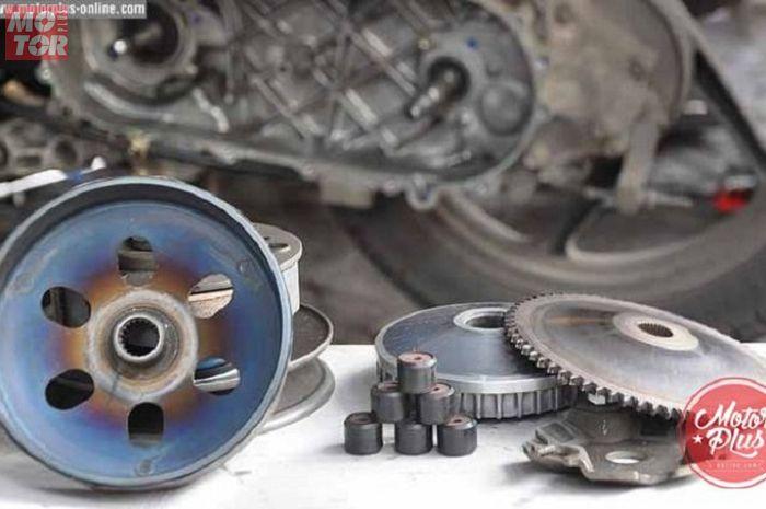 7 Cara Ini Bisa Bikin Akselerasi Motor Matik Makin Joss, Tanpa Bore Up loh..