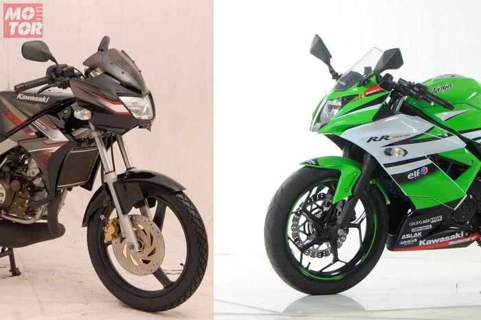 Kawasaki Ninja 150 dan Kawasaki Ninja 250SL/ RR Mono