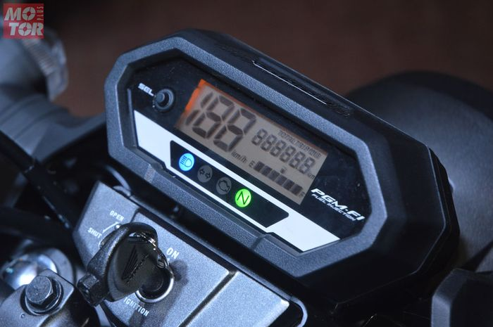 Speedometer Honda CB150 Verza sudah full digital