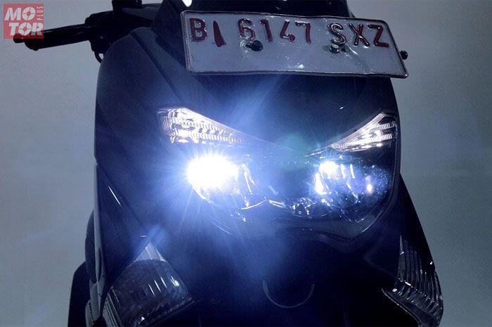 Lampu Yamaha NMAX 155 sudah LED