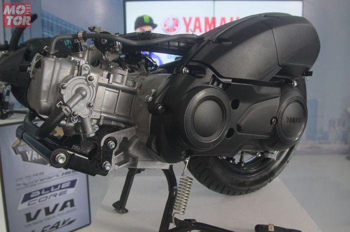 Mesin Yamaha Lexi tampak luar persis banget mesin Aerox 155