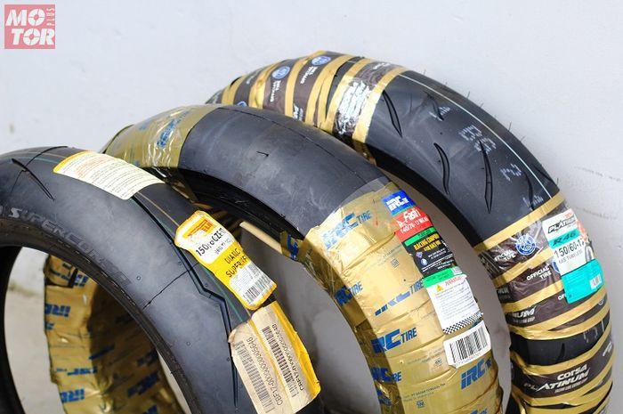 Ban soft compound lebih cepat habis, ternyata ini untungnya dipakai di motor harian.