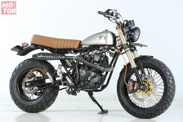 Yamaha Scorpio Tracker Custom Concept Industries