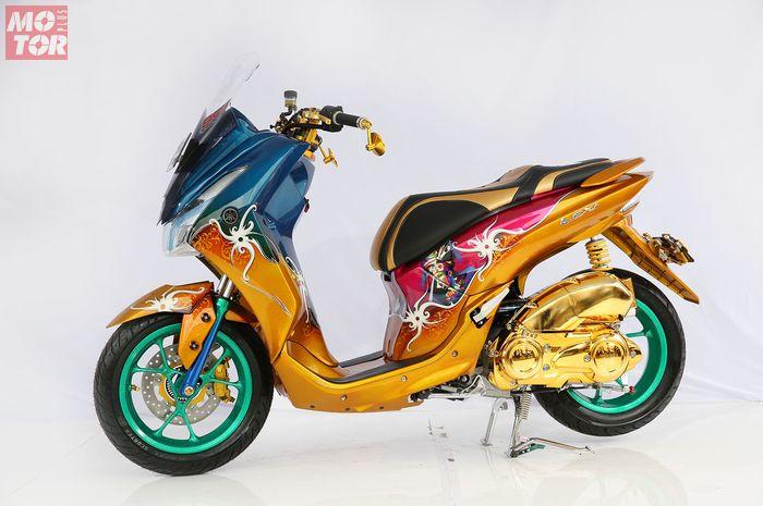 Yamaha Lexi Dayak Dance Juara Customaxi Yamaha 2018 Balikpapan