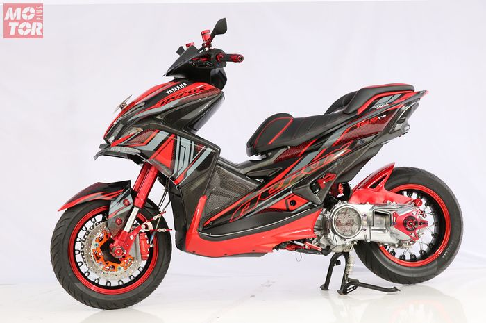 Yamaha Aerox 155 Best Racing Customaxi Balikpapan