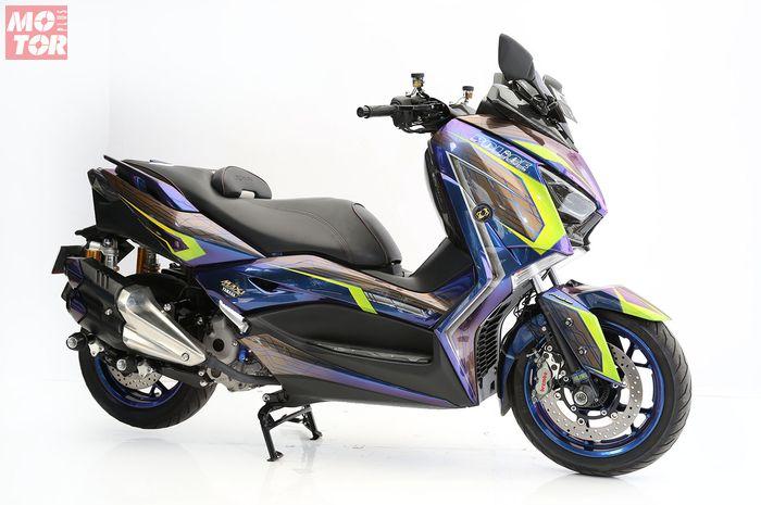 Yamaha XMAX 250 Best Airbrush Customaxi Yamaha 2018 Makassar