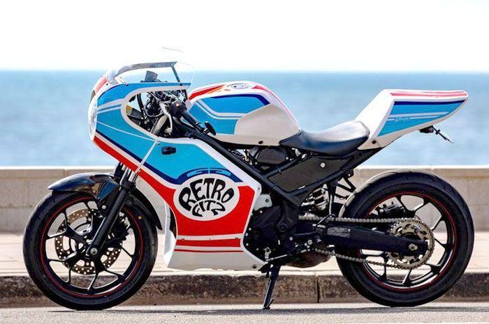 paket bodi dan fairing untuk Yamaha R3 bisa dipakai Yamaha R25