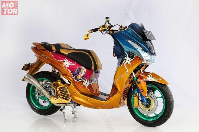 Yamaha Lexi Dayak Dance.