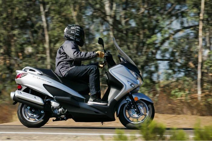 Suzuki Burgam 200 cc dijual duluan di Eropa