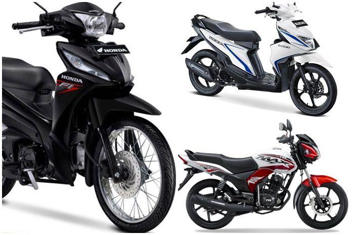 Pilihan motor baru harga Rp 13 jutaan