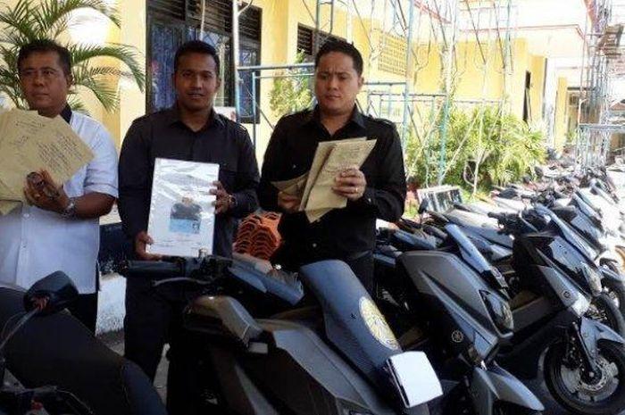 Bukti penipuan beli motor cash jadi kredit di Bali