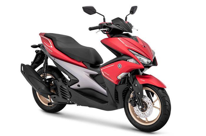 Warna baru Yamaha Aerox S-Version