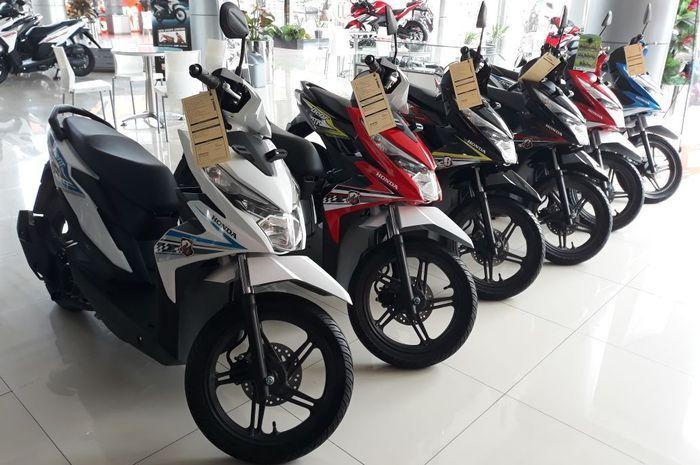 Ilustrasi stok Honda BeAT di Wahana Jakarta