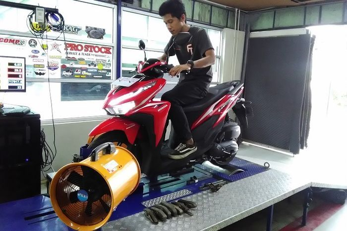Dynotest All New Honda Vario 125